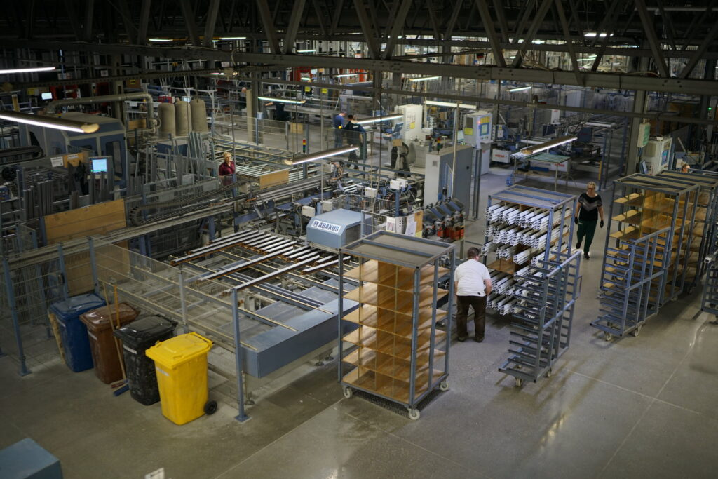 technologia produkcji okien pcv
